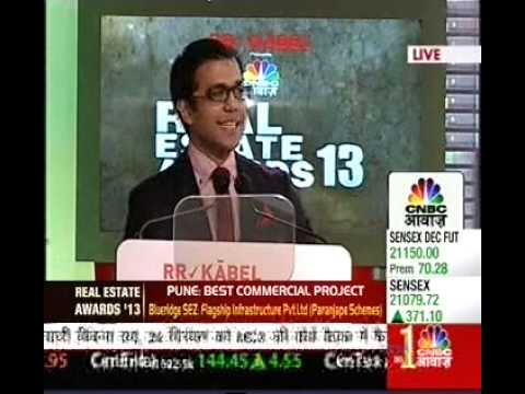 CNBC Awaaz Real Estate Awards 2013 - Silver Springs, Indore - Best 100% Complete Residential Project