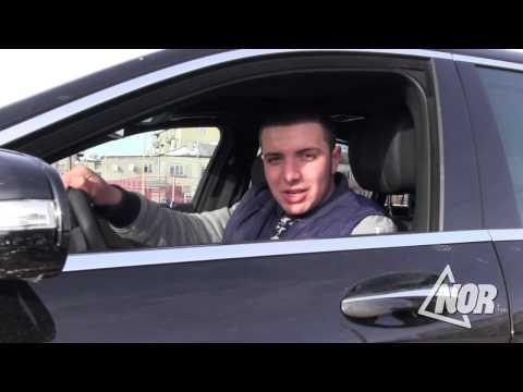 Видео: Тест – драйв  волонтера радио Нор Армана Карапетяна, автомобиль Mercedes S350 W222