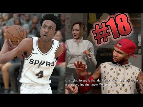 NBA 2k18 MyCAREER - Jordan Brand Meeting! Shammy is a Glitch! Ep. 18