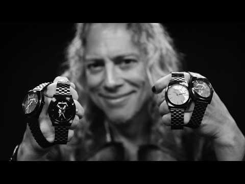 Dana McKenzie - METALLICA RELEASE NEW RANGE OF WATCHES