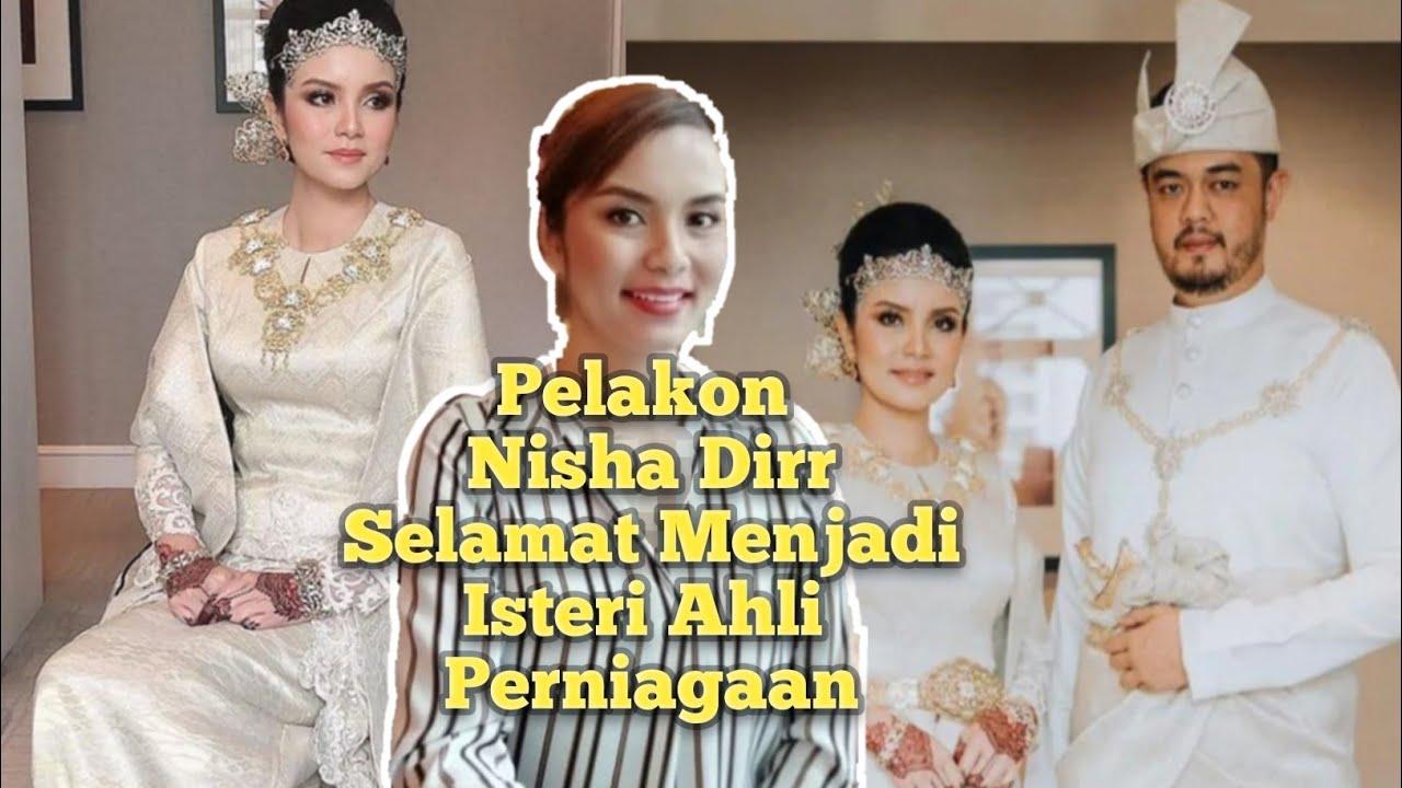 Tahniah! Nisha Dirr Sah Menikah Dengan Tengku Kamirul Rashid