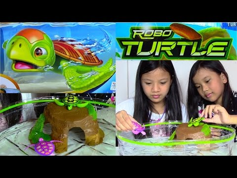 Robo turtle by robo fish zuru funnycat tv for Turtle fish games