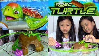 Robo Turtle Playset by Zuru + Surprise Egg Game - Kids' Toys