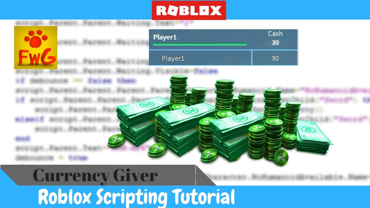 How To Make A Currency Giver In Roblox Studio 2017!