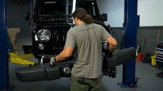 How to Remove Stock Jeep JK Front Bumper - HavocOffroad.com