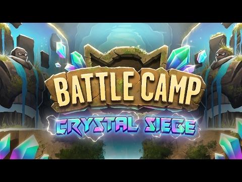 Crystal Siege Spins Battle Camp + HUGE HITS 40,000,000!!!