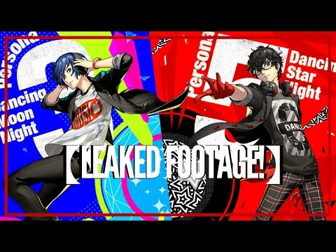 PERSONA 3 DMN & PERSONA 5 DSN LEAKED FOOTAGE!