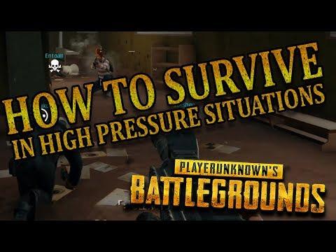 HIGH PRESSURE, NO PROBLEM | Player Unknown's Battlegrounds Part 24