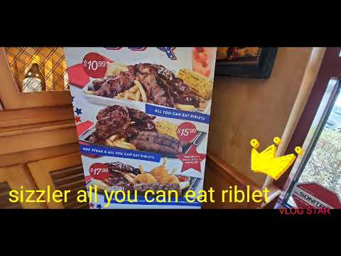 Sizzler All You Can Eat Riblet