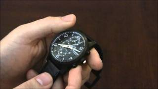 Montblanc Timewalker TwinFly Choronograph Watch Review