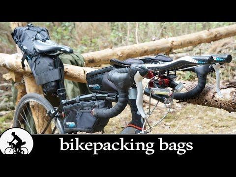 bikepacking bags (roswheel attack)
