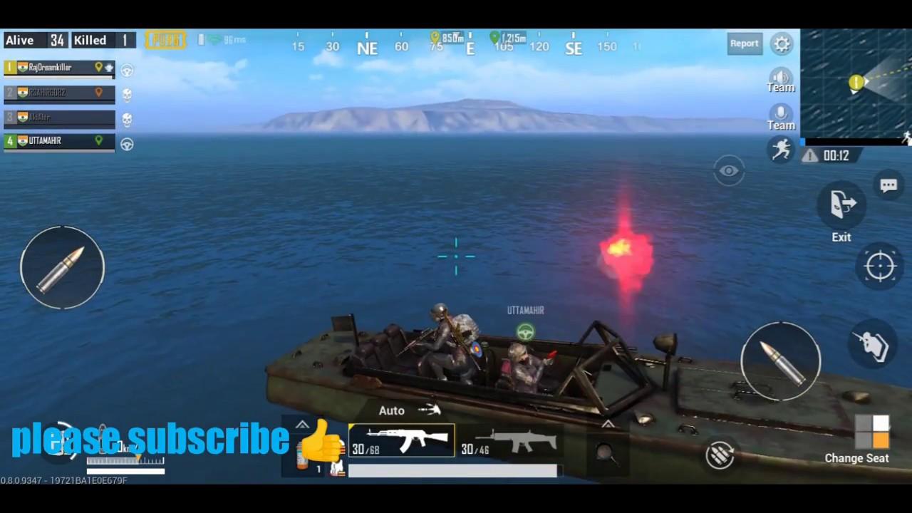 Pubg Mobile Flare Gun Glitch Youtube