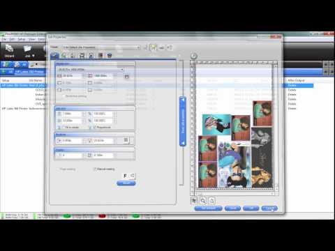 HP Latex 560 & 360 Printer: Job Tiling, Nesting and Printing