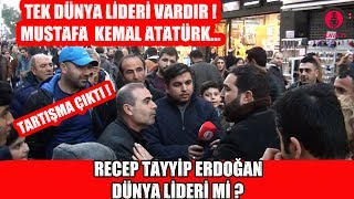 İzmir'de CB Recep Tayyip ERDOĞAN Dünya Lideri Mi Diye Sorduk !