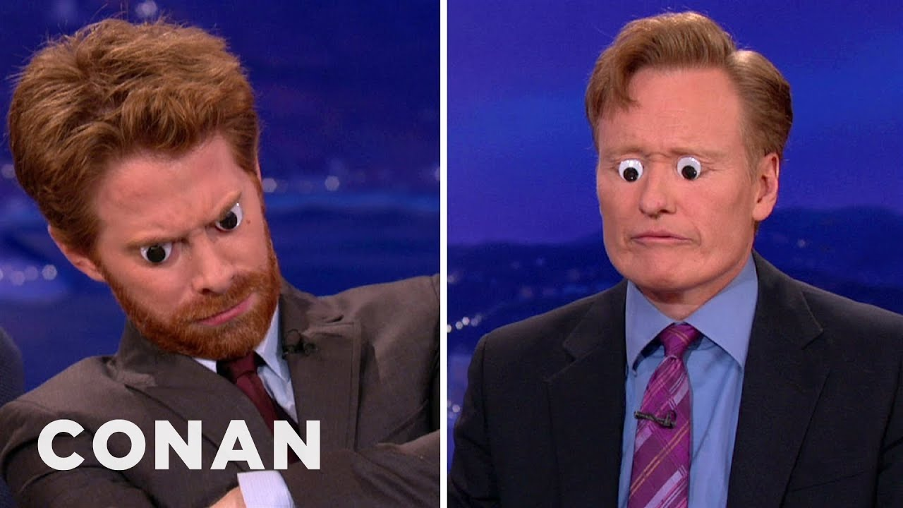 Seth Green Loves To Decorate With Googly Eyes