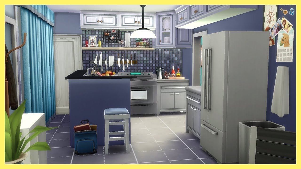 The Sims 4 Famous Tv Houses Dexter's Apartment Youtube