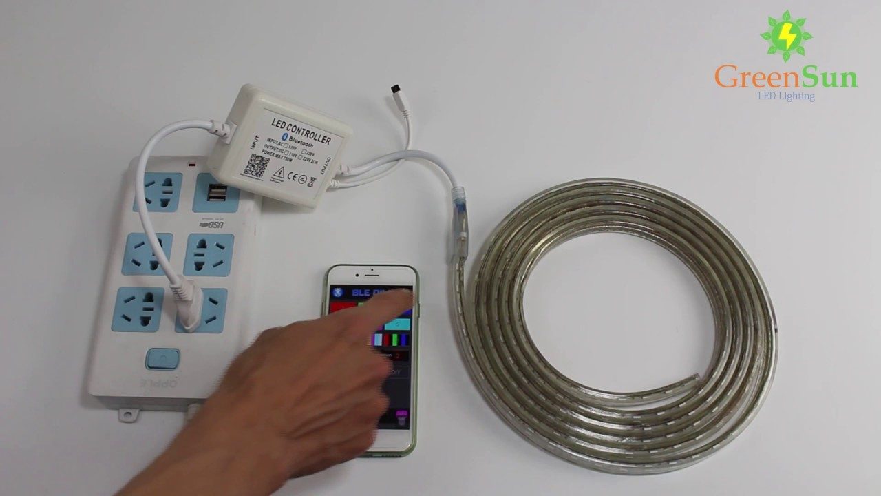 Greensun Smart Phone Bluetooth Controller For Rgb Led