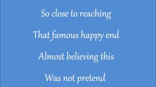 So Close Karaoke / Instrumental Jon McLaughlin From Disney