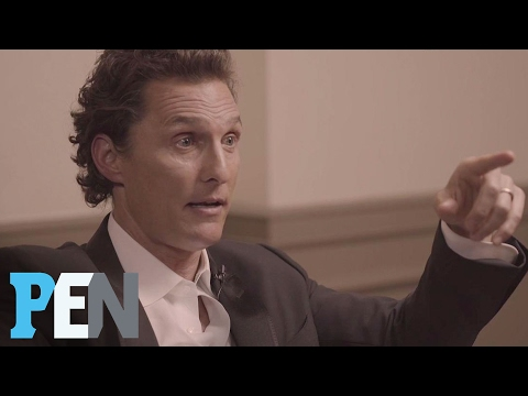 Matthew McConaughey Talks About The Night He Met Wife Camila | PEN | People