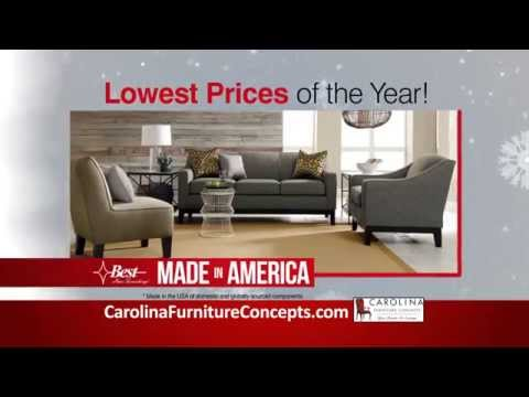 Carolina Furniture Concepts Holiday Home Sale Youtube