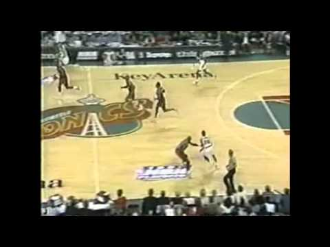 Seattle SuperSonics NBA Playoff Record 20 three point field goals vs. Rockets (Game 2 1996 Playoffs)