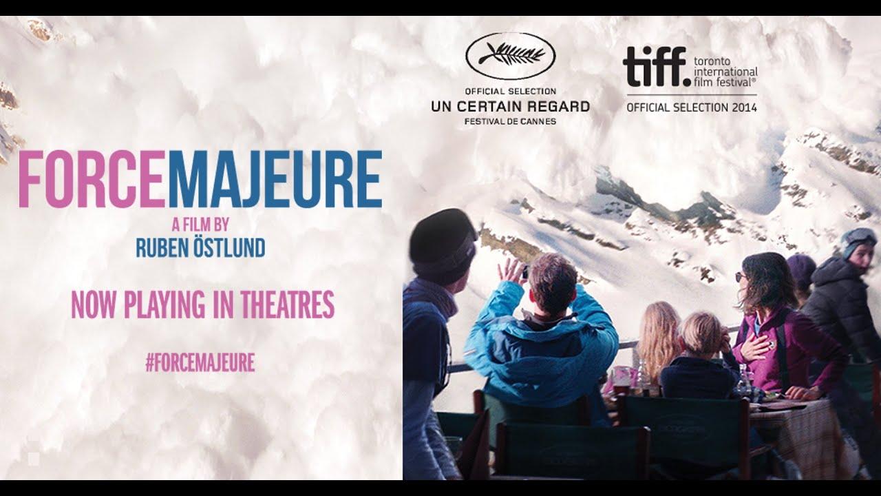 Image result for Ruben Östlund's film Force Majeure
