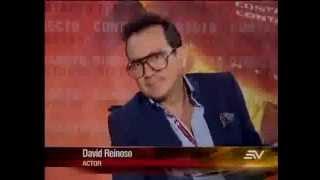 Entrevista David Reinoso en Contacto Directo de Ecuavisa