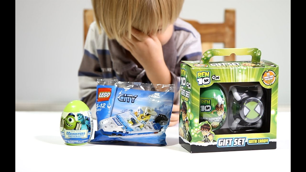 Lego City Police Boat Set Ben 10 Gift Set Monsters