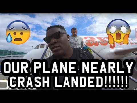 MY PLANE NEARLY CRASH LANDED!!! **OMFG**