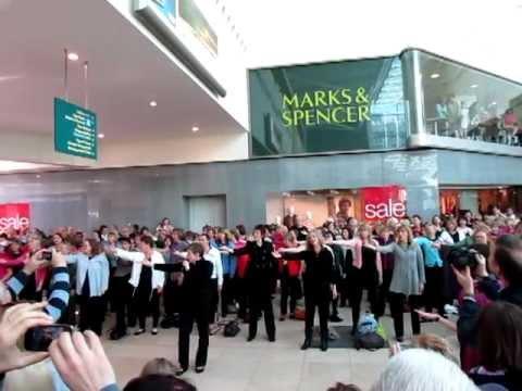 Rock Choir at Basingstoke including Petersfield Choir