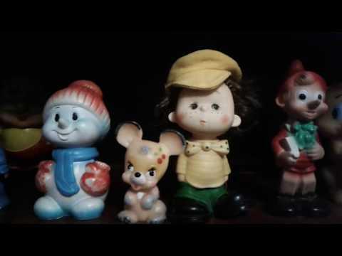 Коллекция Резиновых игрушек из СССР от моих подписчиков .