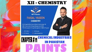 Gambar cover XII CHEMISTRY, TOPIC: PAINTS