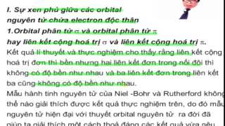 Bài giảng hóa lớp 10 - Chương. Liên kết hóa học - Bài 5. Sự xen phủ giữa các orbital nguyên tử
