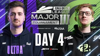 Call Of Duty League 2021 Season | Stage III Major Tournament | Day 4