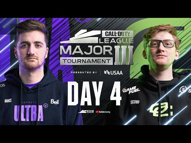 Elimination Round 5 | OpTic Chicago vs Toronto Ultra | Call Of Duty League | Stage III Major | Day 4