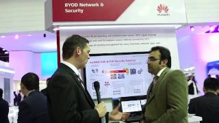 BYOD Network and Security at GITEX 2013, Dubai