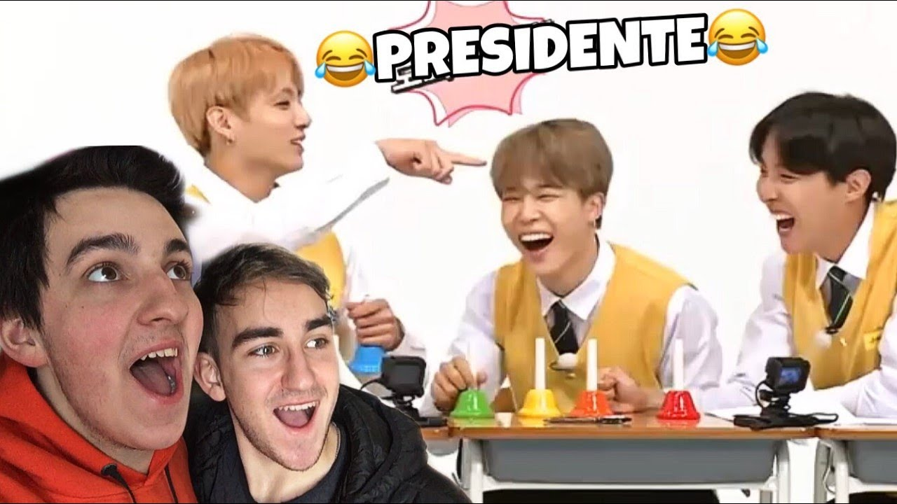JUNGKOOK PRESIDENTE! (BTS RUN 63)