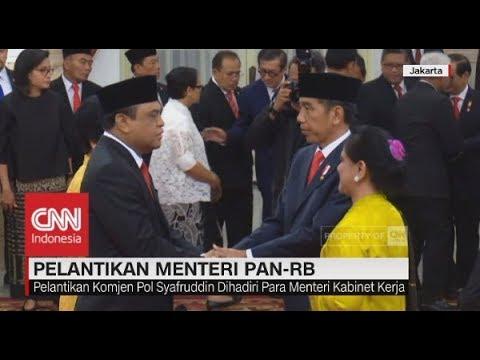 Pelantikan Menteri PAN-RB