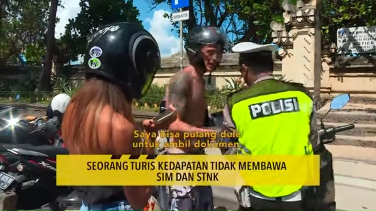 Bule terjaring Razia Polres Denpasar | THE POLICE (05/08/20) Part 2