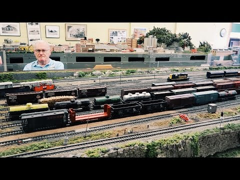 Model Train Set So Large It Takes Up Five Rooms