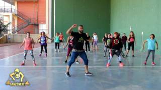 Shape Of You Version Salsa Coreografia Zumba Sanzonetti
