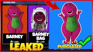 HOW to get the NEW 'PURPLE DINOSAUR' Skin in Fortnite (LEAKED DINOSAUR THEORY)