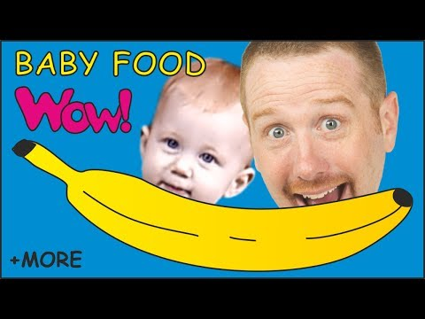 Baby Food + MORE Steve and Maggie English Stories for Kids | English Speaking with Wow English TV