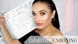 FabFitFun Unboxing | Editors Box LIMITED EDITION