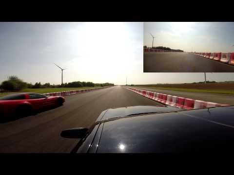 Run Corvette c5 vs Camaro 5e gen Clastre 2014