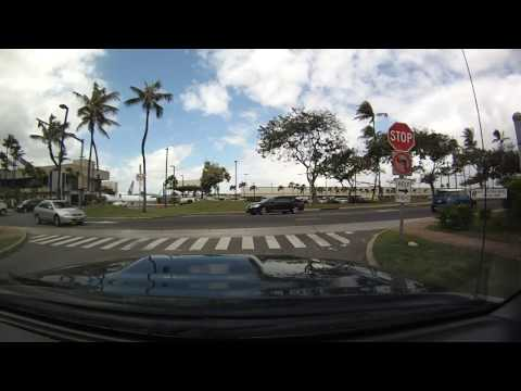 Hawaii Driving - Aiea to Honolulu Airport to University of Hawaii