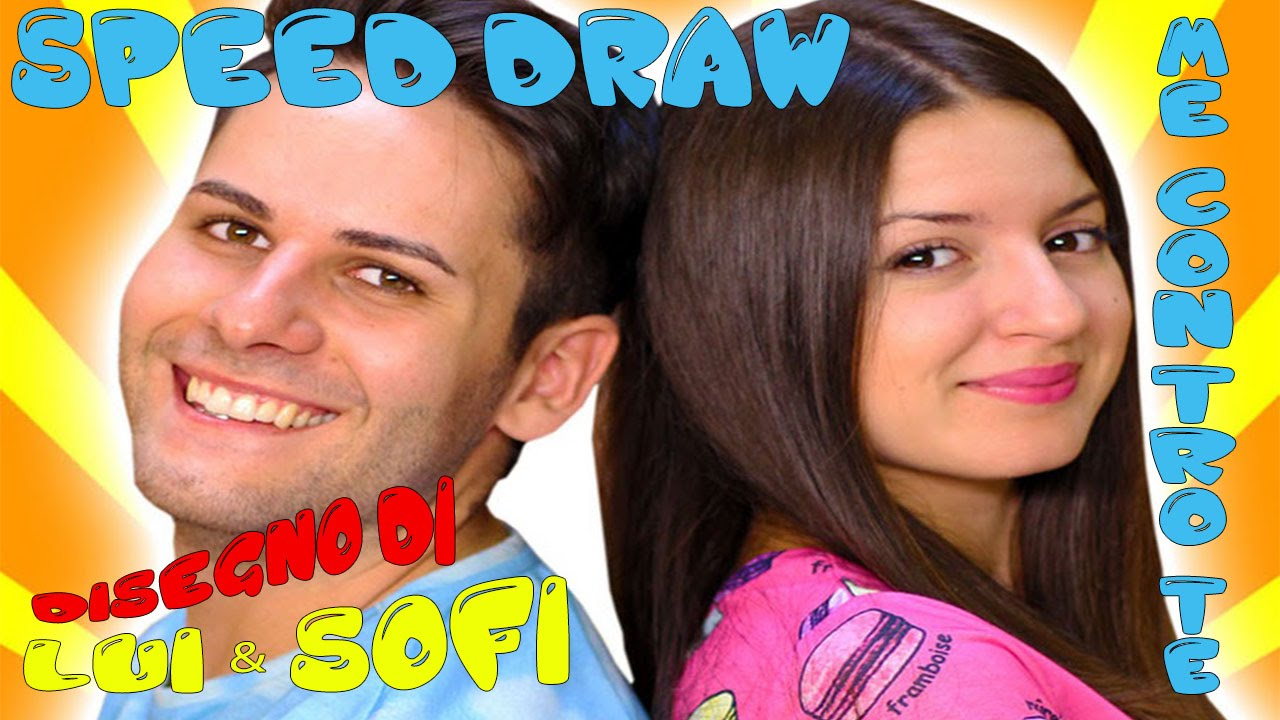 Disegno Drawing Di Me Contro Te Luì Sofì Youtube