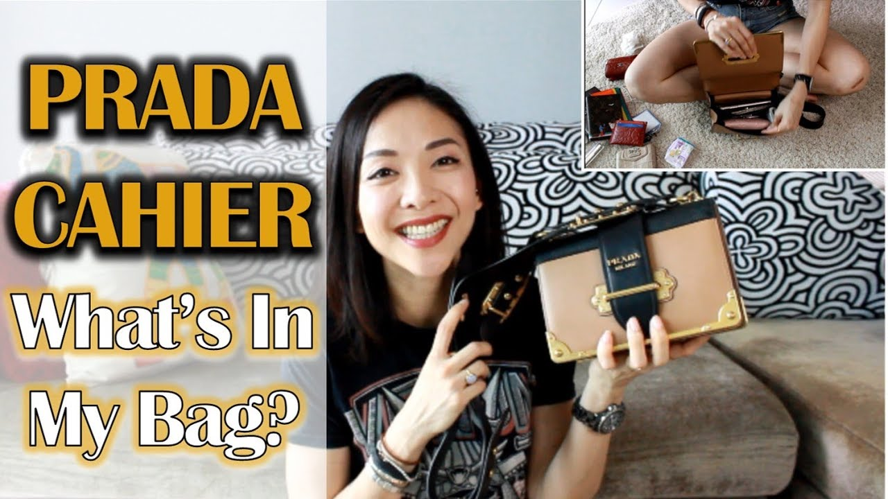 41f45865a8e1 Prada Cahier | What's In My Bag? | Luxe Review | Kat L - YouTube