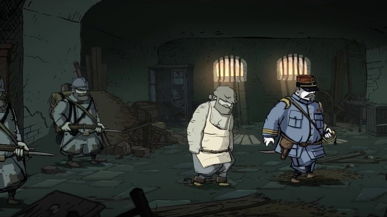 Valiant Hearts  The Great War ending  (RUS)