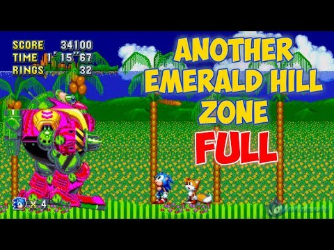 Another Emerald Hill Zone (FULL) | Sonic Mania Mods ⮚ Walkthrough